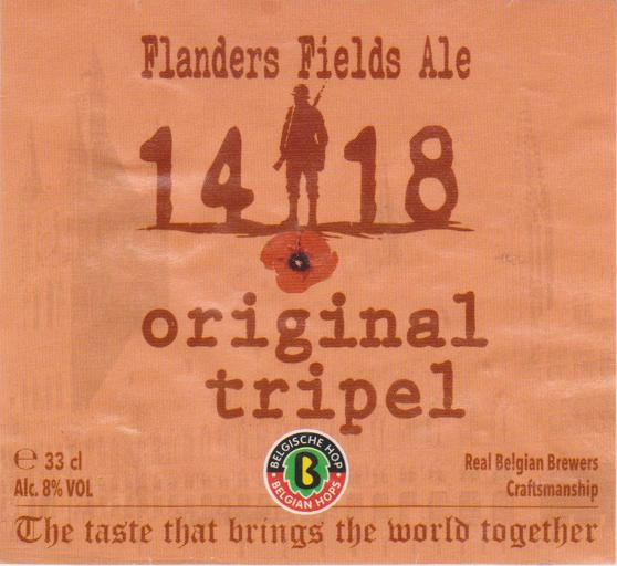 Flanders Fields 1418 Tripel